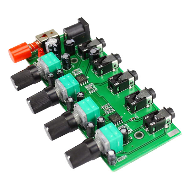Mikser audio stereo 4 kanałowy AU-401 BTE-296
