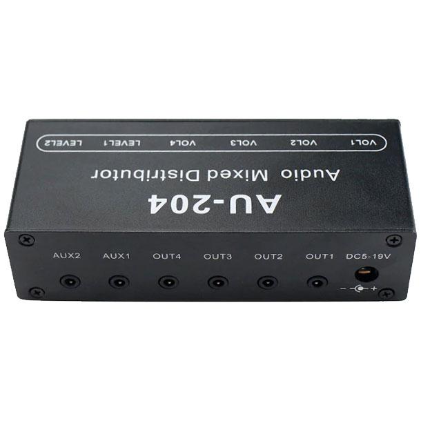 mikser audio stereo 2 wejścia 4 wyjścia BTE-299