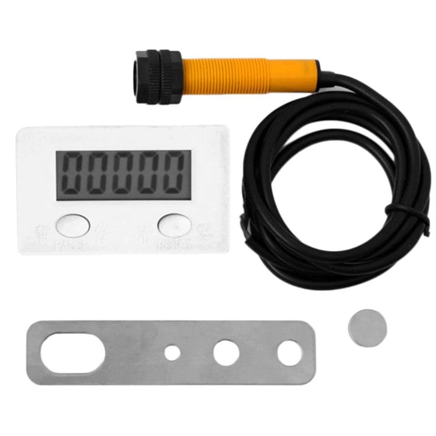 yfrowy licznik impulsów H7EC - licznik obrotów - sumator obrotów - tachometr - elektroniczny licznik impulsów