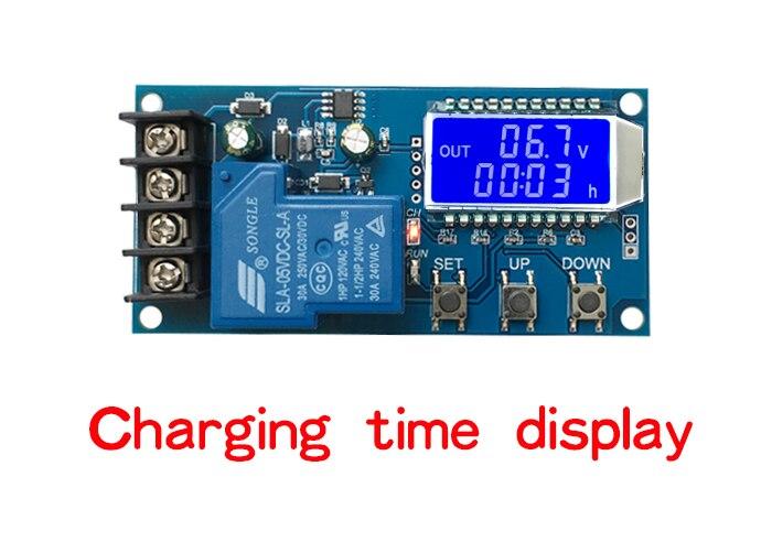 mikroprocesorowy sterownik - kontroler regulator do prostownika ładowania akumulatorów od 6V 12V 24V do 60V BTE-690 XY-L30A