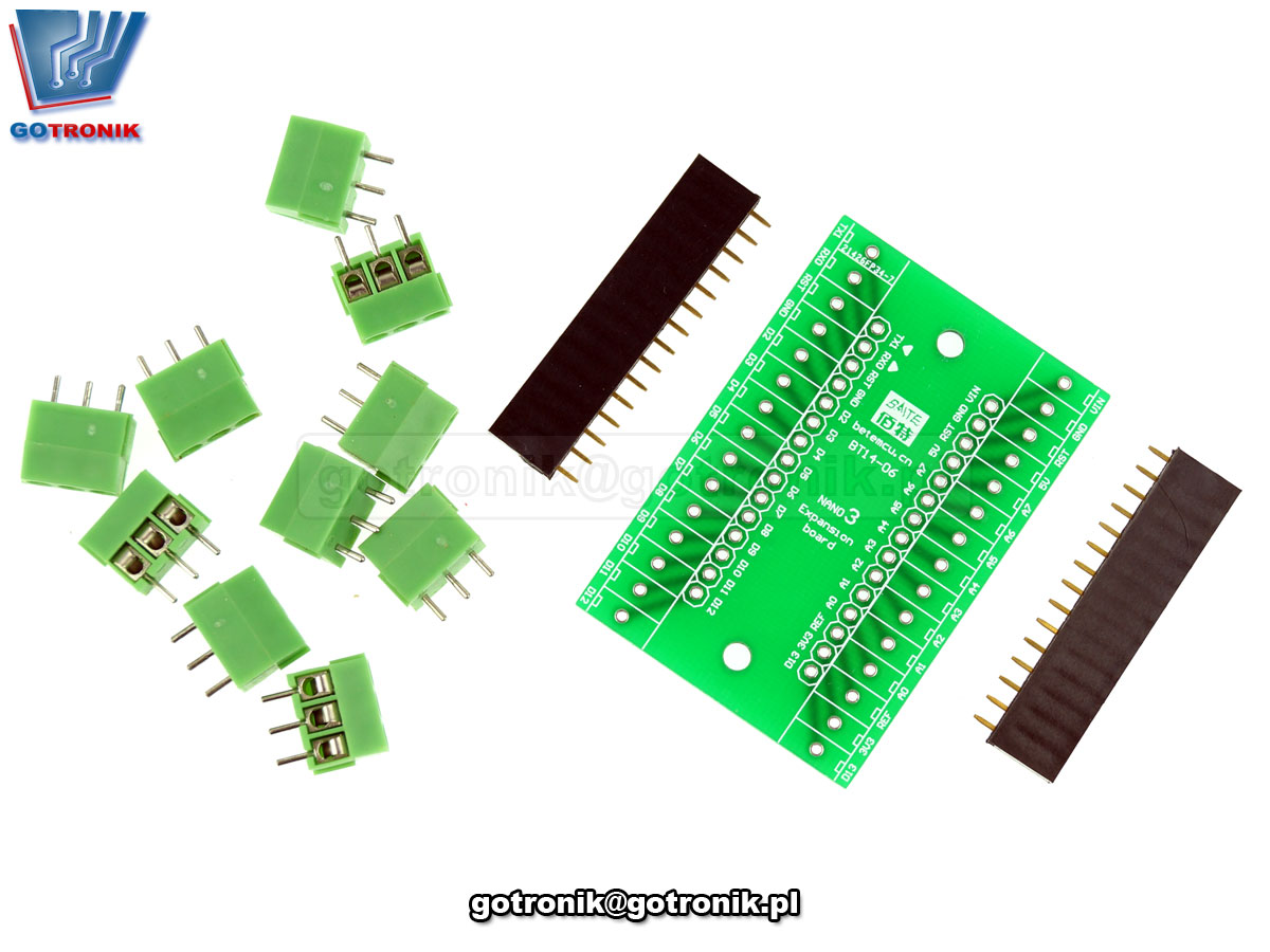 Adapter dla Arduino NANO 3.0 shield Adruino expansion board terminal block BTE-694