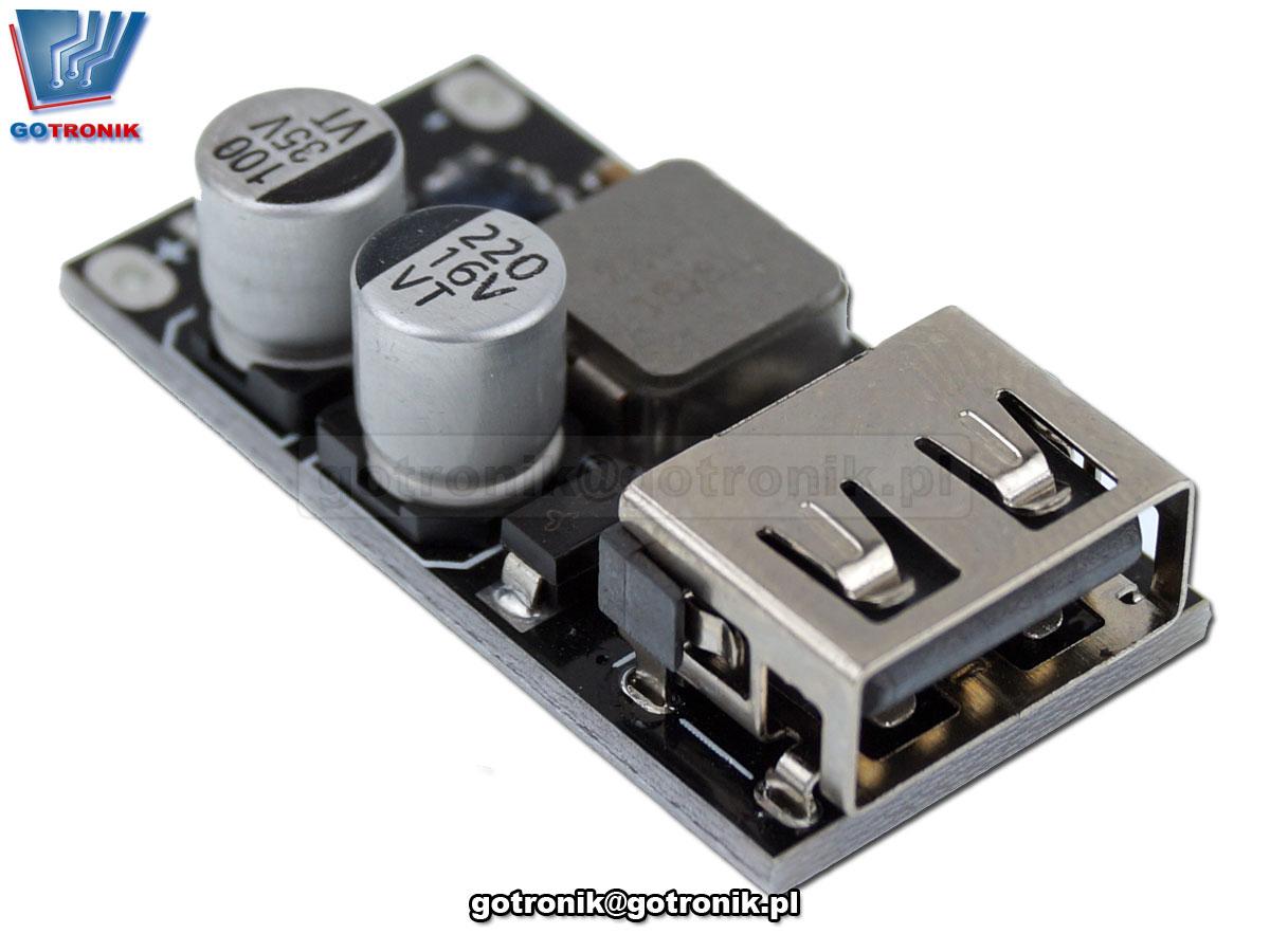 BTE-695 moduł przetwornicy napiecia USB szybka ładowarka USB QC2 QC3
