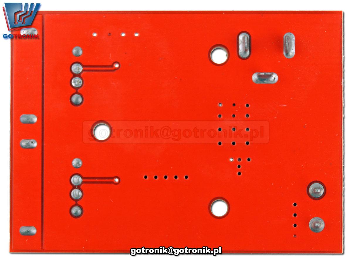 Podwójna ładowarka USB 5V 3A moduł przetwornicy impulsowej napięcia DC-DC 6V-40V LM2596S BTE-697