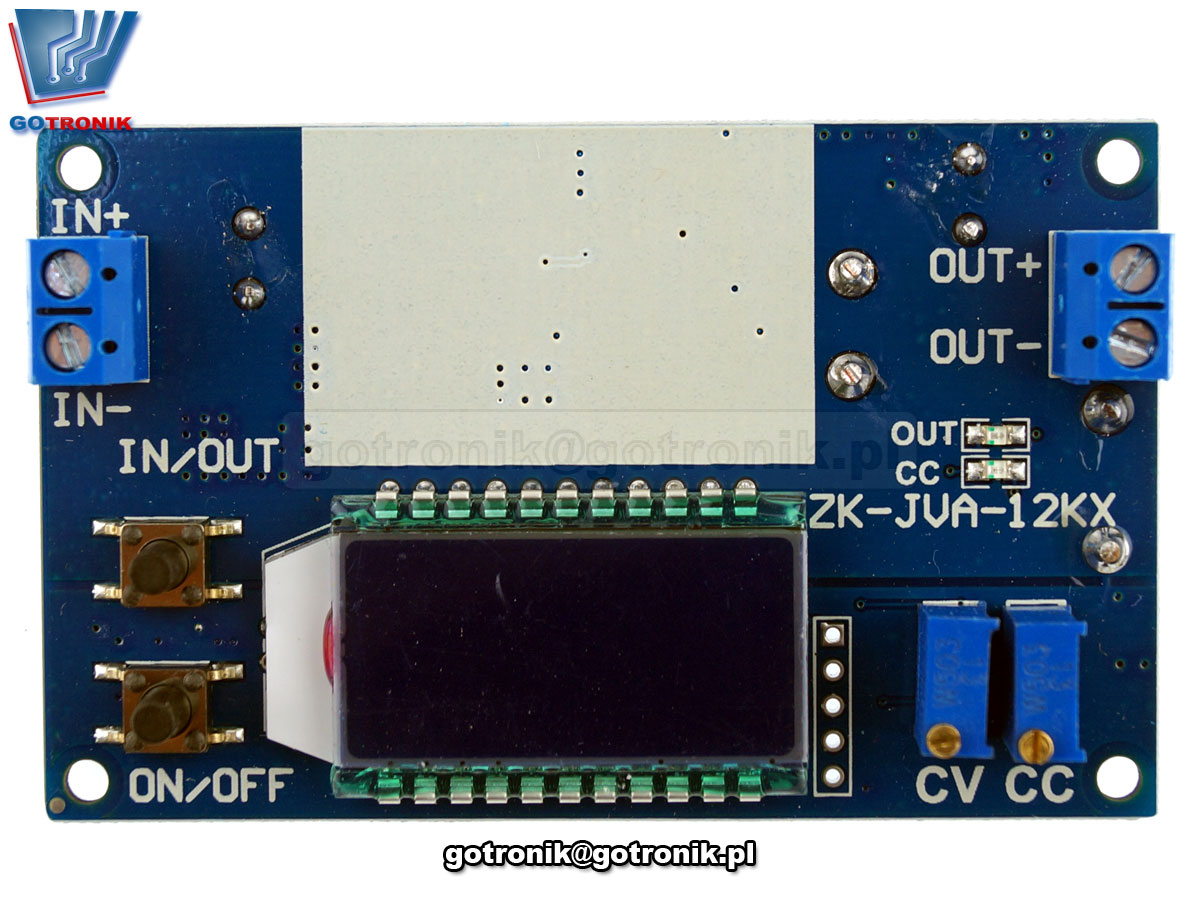 BTE-721 BTE721Przetwornica napięcia 1,2V do 32V Step down LCD CV CC ZK-JVA-12KX