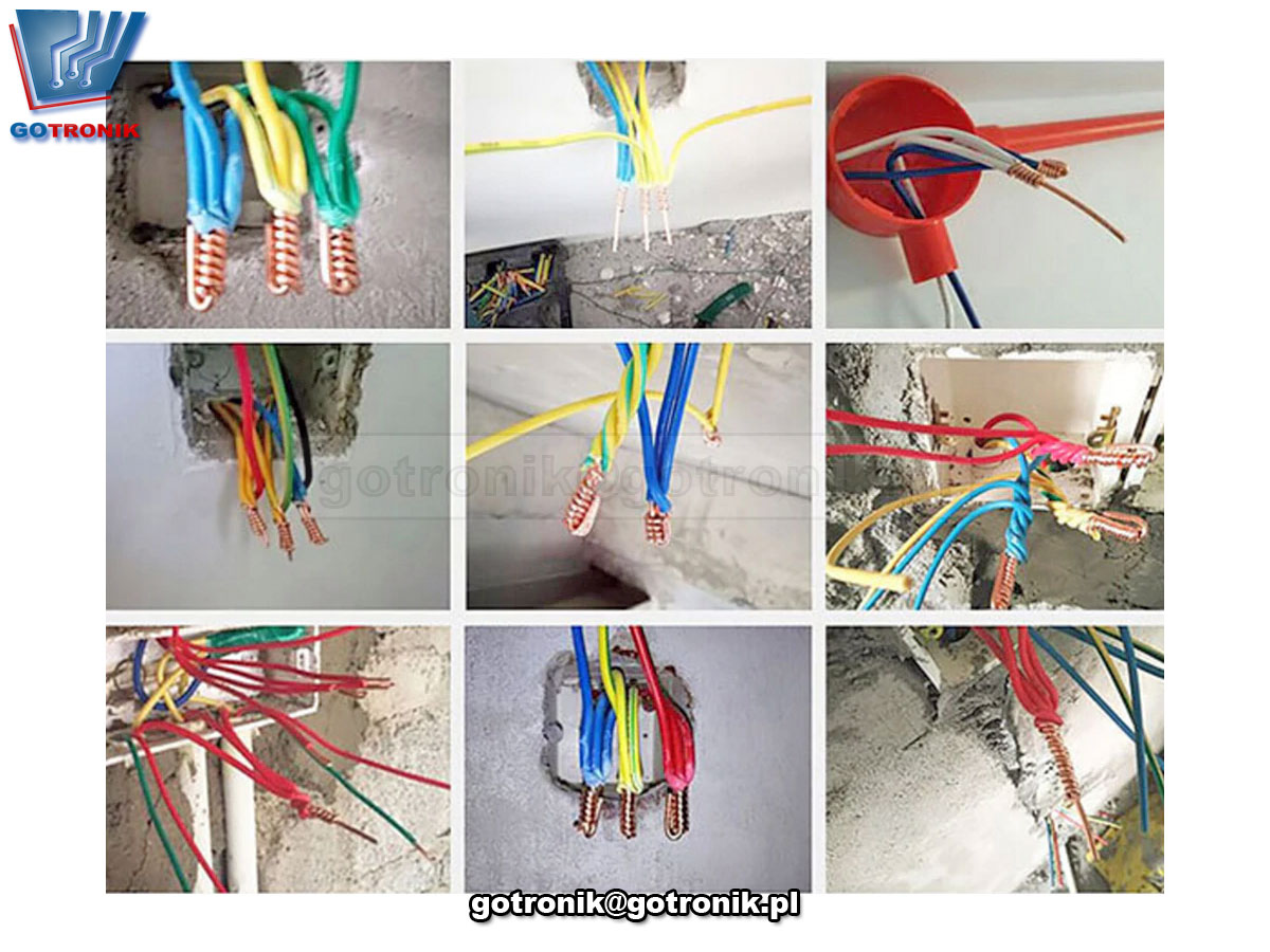 Narzędzie do skręcania drutu 5 lini 2,5mm przewodów elektrycznych BTE-768