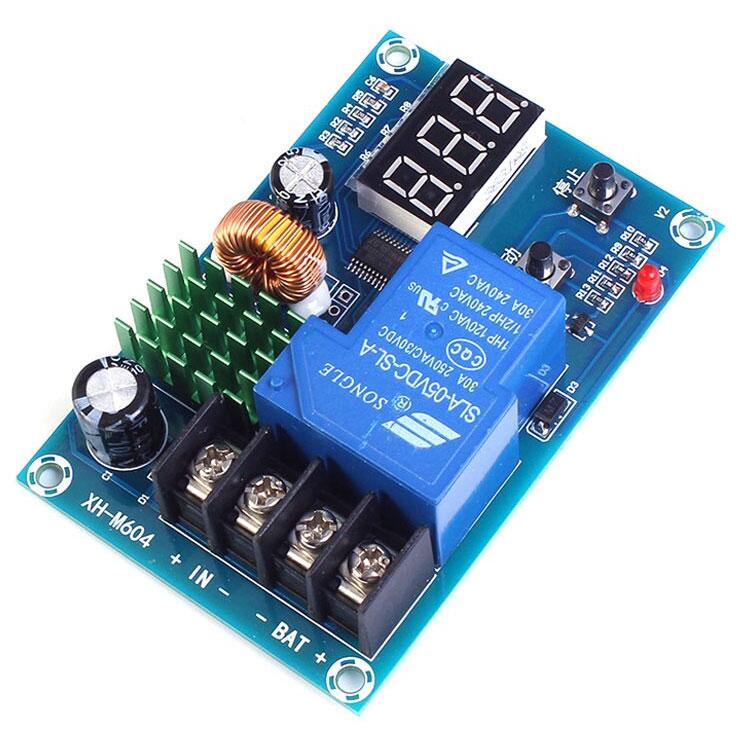 XH-M604 Kontroler regulator ładowania akumulatorów 6V - 60V litowych i litowo- kwasowo- ołowiowych BTE-778