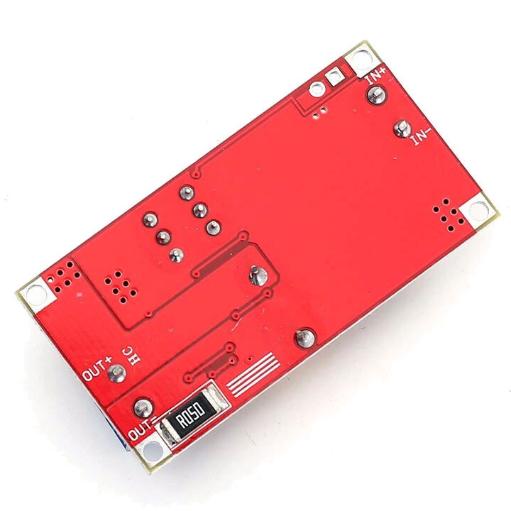przetwornica napięcia step down z regulacją napięcia i prądu wyjściowego moduł ładowarki akumulatorów Li-ion BTE-791