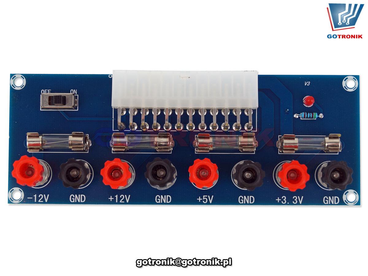 moduł XH-M229- rozszerzenie do współpracy z zasilaczem komputerowych ATX BTE-799