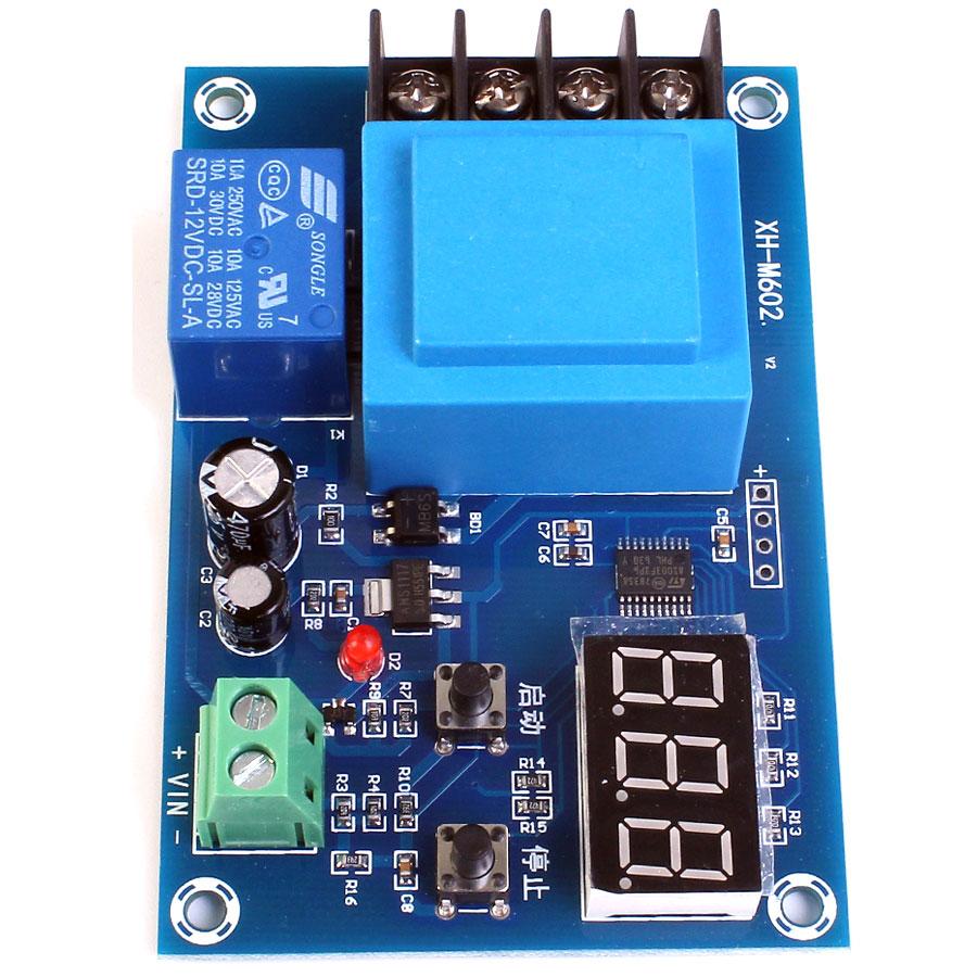 XH-M602 Kontroler regulator ładowania akumulatorów 3,7V do 120V BTE-801