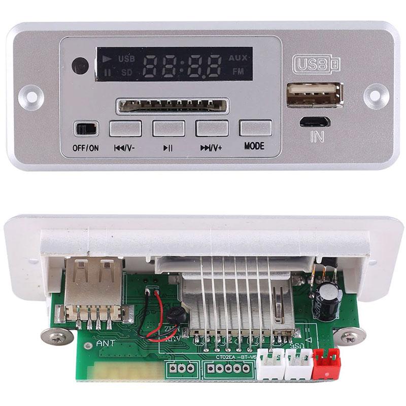 Odtwarzacz panelowy MP3 + wzmacniacz 3W BTE-823