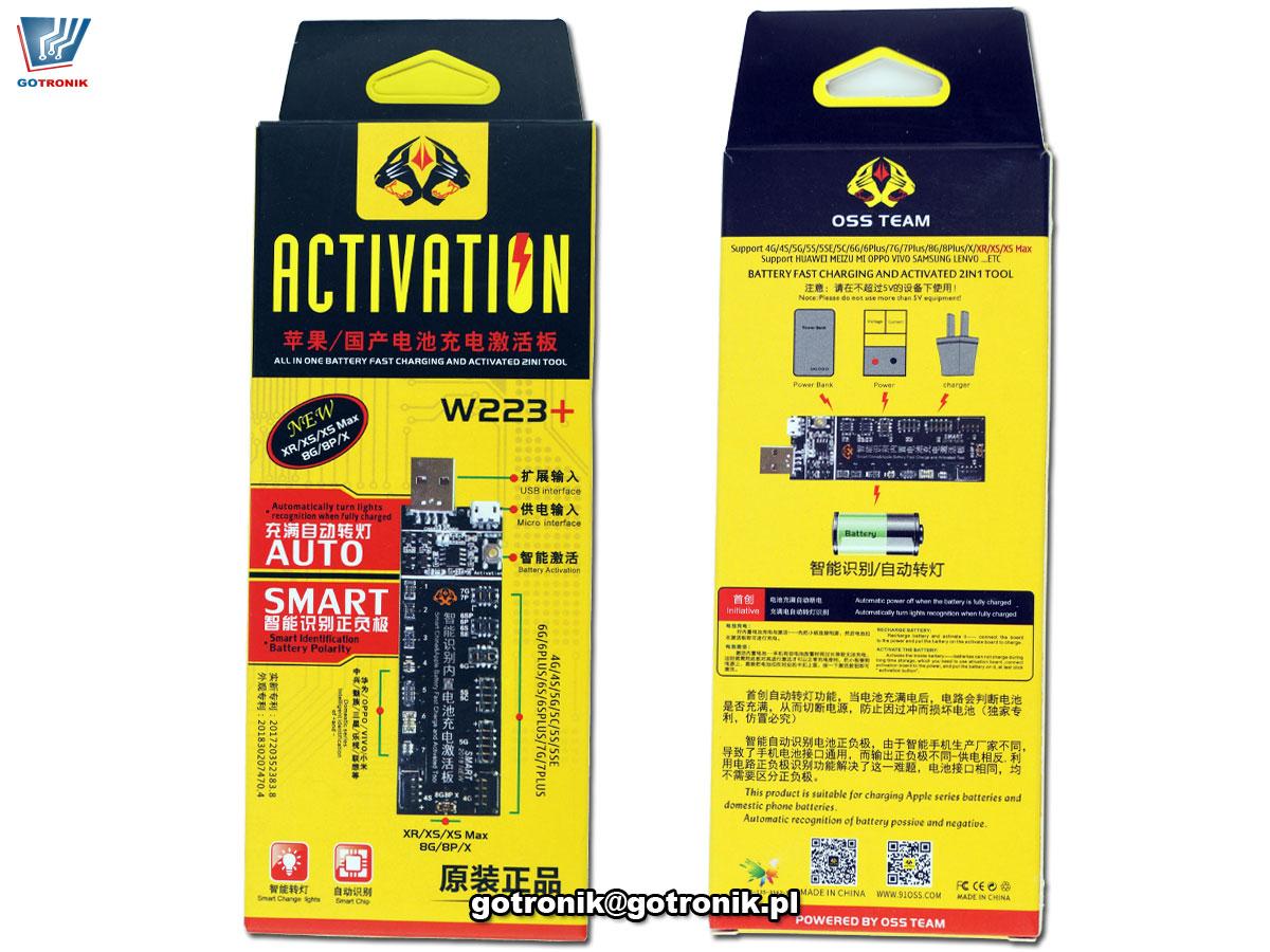 Moduł ładowarki serwisowej dla Iphone - aktywator W223+ BTE-825 GSM