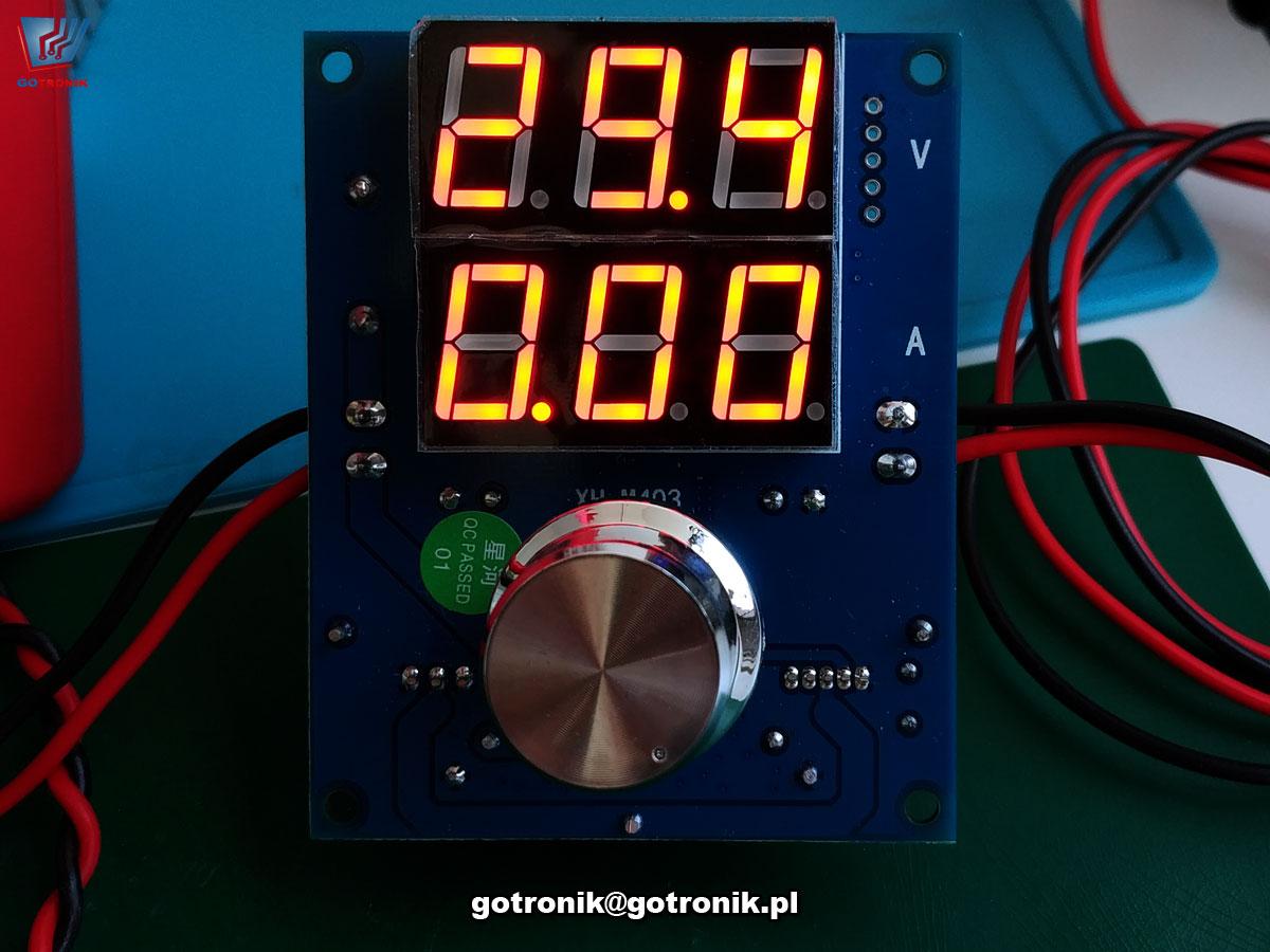 Przetwornica napięcia 1,25V-36V 8A 200W XH-M403 XL4016 BTE-836