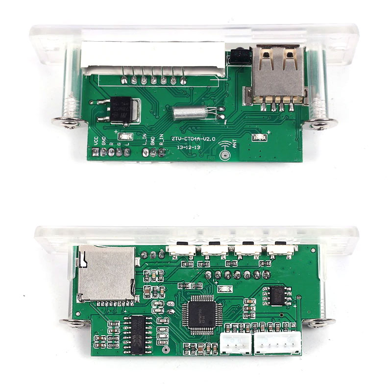 Odtwarzacz panelowy MP3 + USB + SD + pilot BTE-837