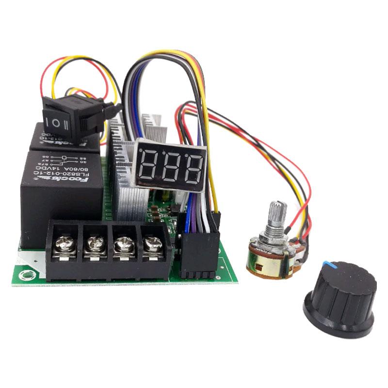 sterownik pwm, generator pwm, sterownik silnika elektrycznego dc, regulator współczynnika wypełnienia, Duty Cycle, PWM Speed Controller, BTE-846