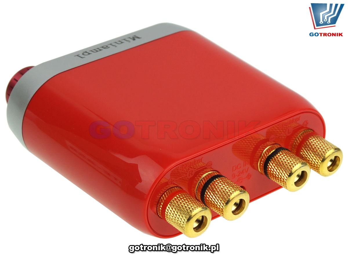 wzmacniacz audio akustyczny 2x50W Bluetooth USB aux in jack wskaźnik wysterowania VU BTE-858