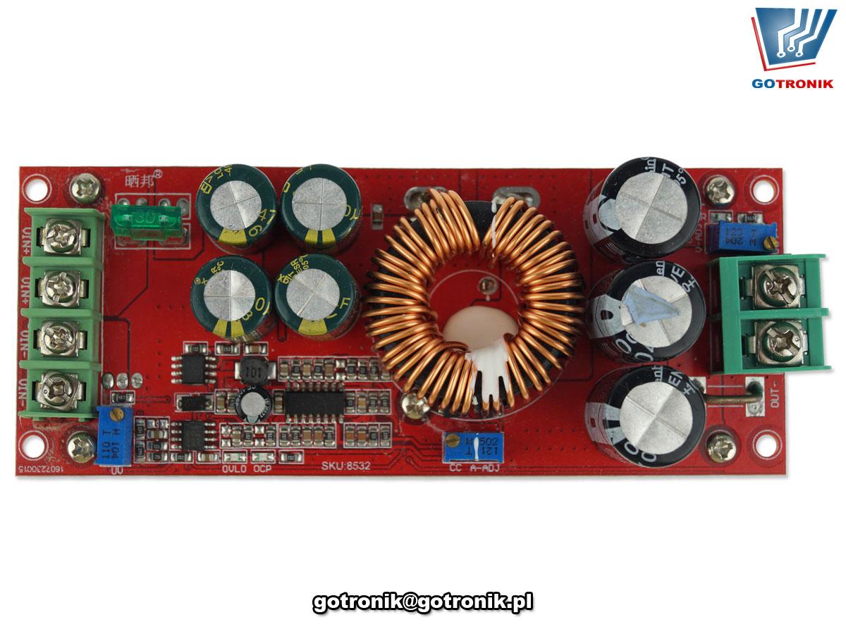 Przetwornica napięcią DC podwyższająca step-up 1200W 12V 80V 20A regulowana BTE-859