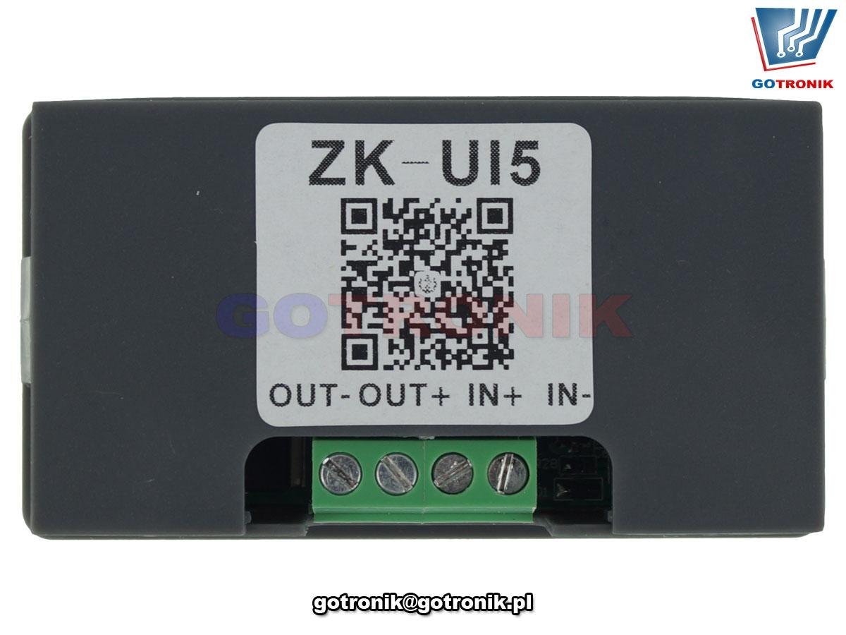 wielofunkcyjny miernik parametrów elektrycznych DC model ZK-UI5 BTE-870
