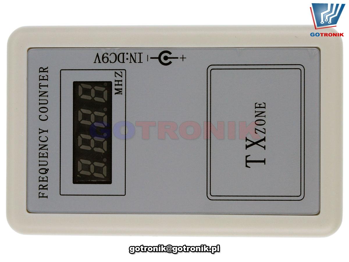 Moduł testera pilotów miernik częstotliwości radiowych TX Zone BTE-875