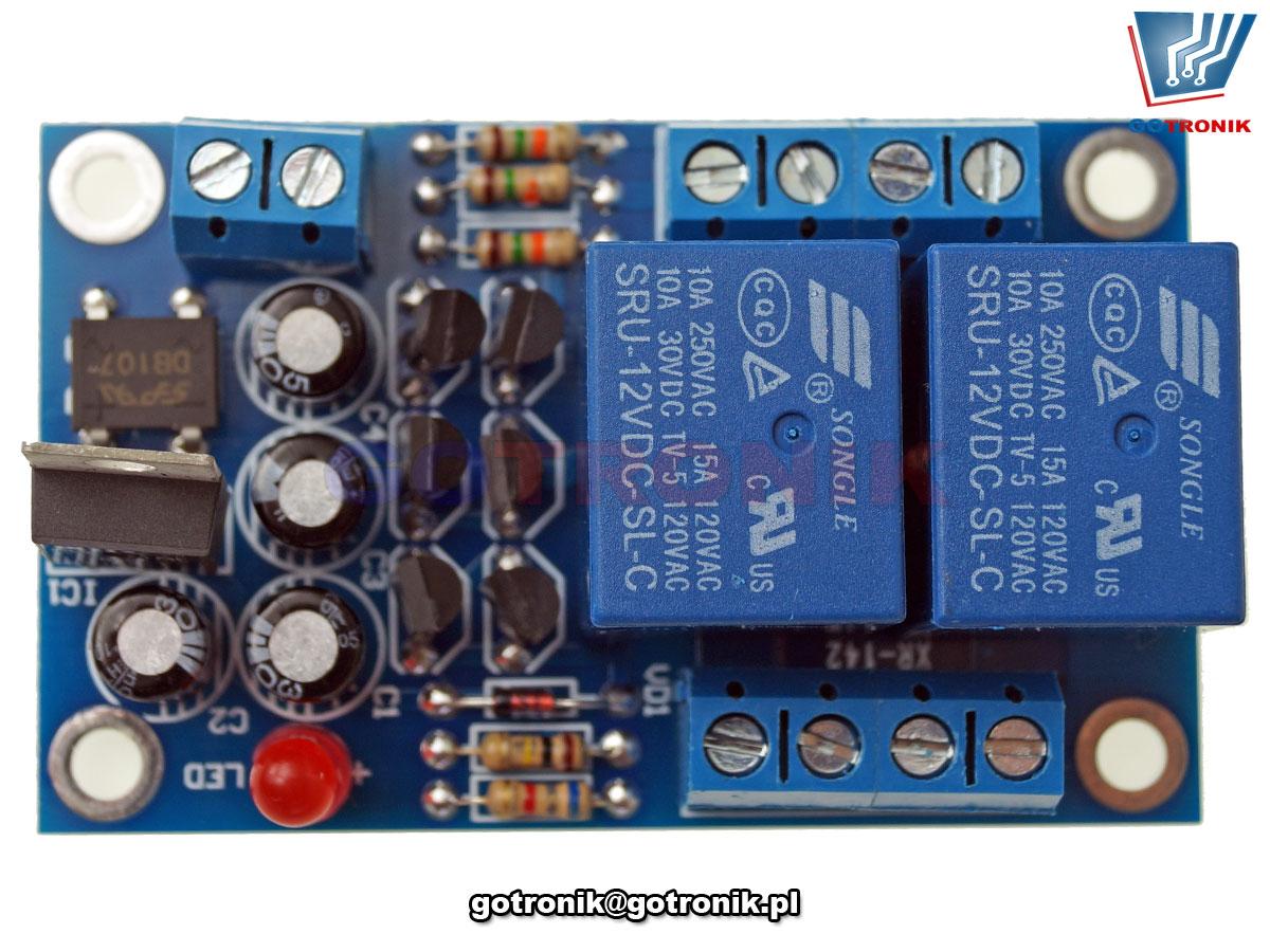 BTE-886 zabezpieczenie cewki głośnika przed składową stałą, odcięcie składowej stałej DC, układ opóźnionego załączenia głośników, integrated filter protection board, Speaker Protection Board zestaw do samodzielnego montażu kit/diy