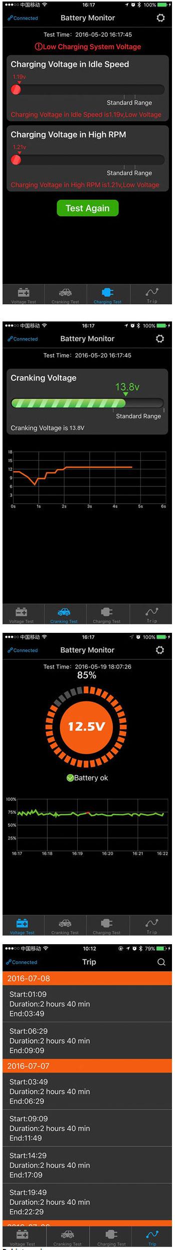 BM2 bezprzewodowy miernik napięcia z komunikacją Bluetooth BTE-902 akumulatora 12V