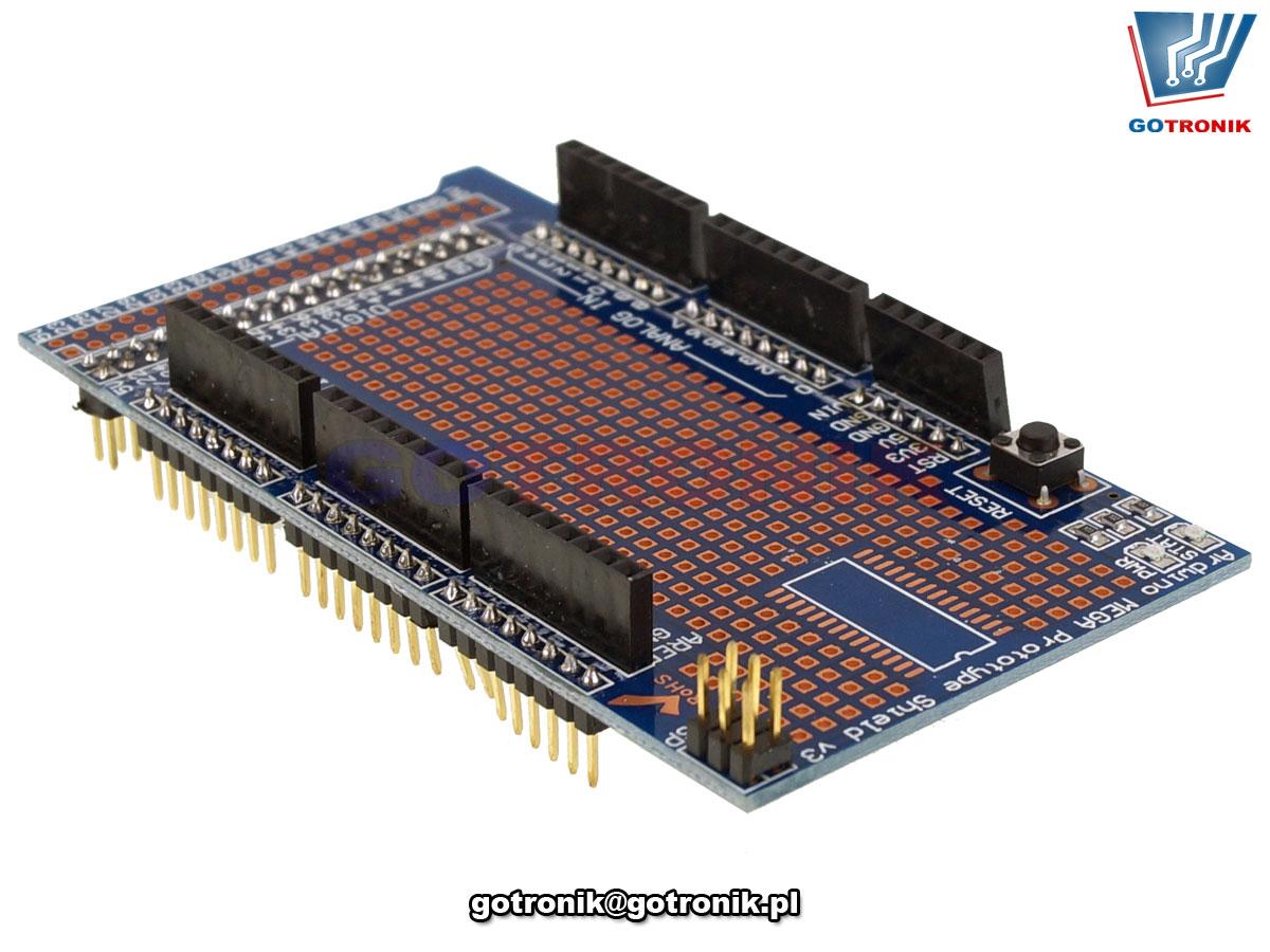 MEGA 2560 R3 Prototype Shield V3 + płytka stykowa 170pól BTE-911