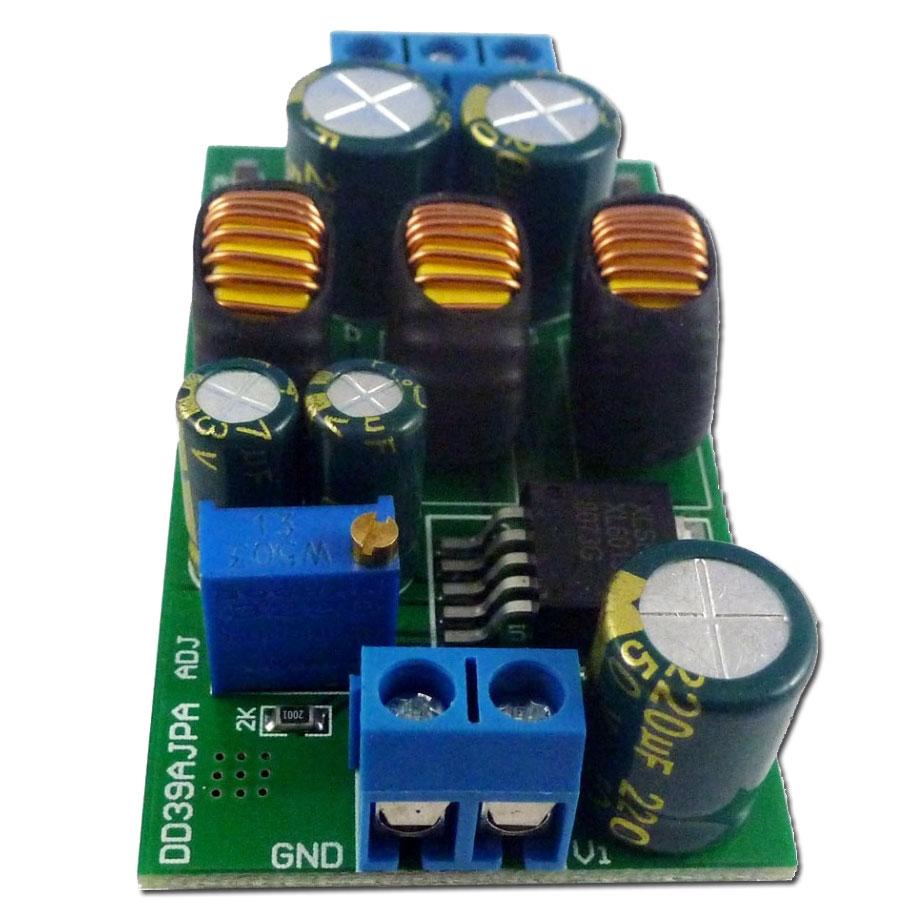 XL6019 impulsowa przetwornica napięcia symetrycznego buck boost, napięcie dodatnie i ujemne, napięcie symetryczne, BTE-940 regulowana