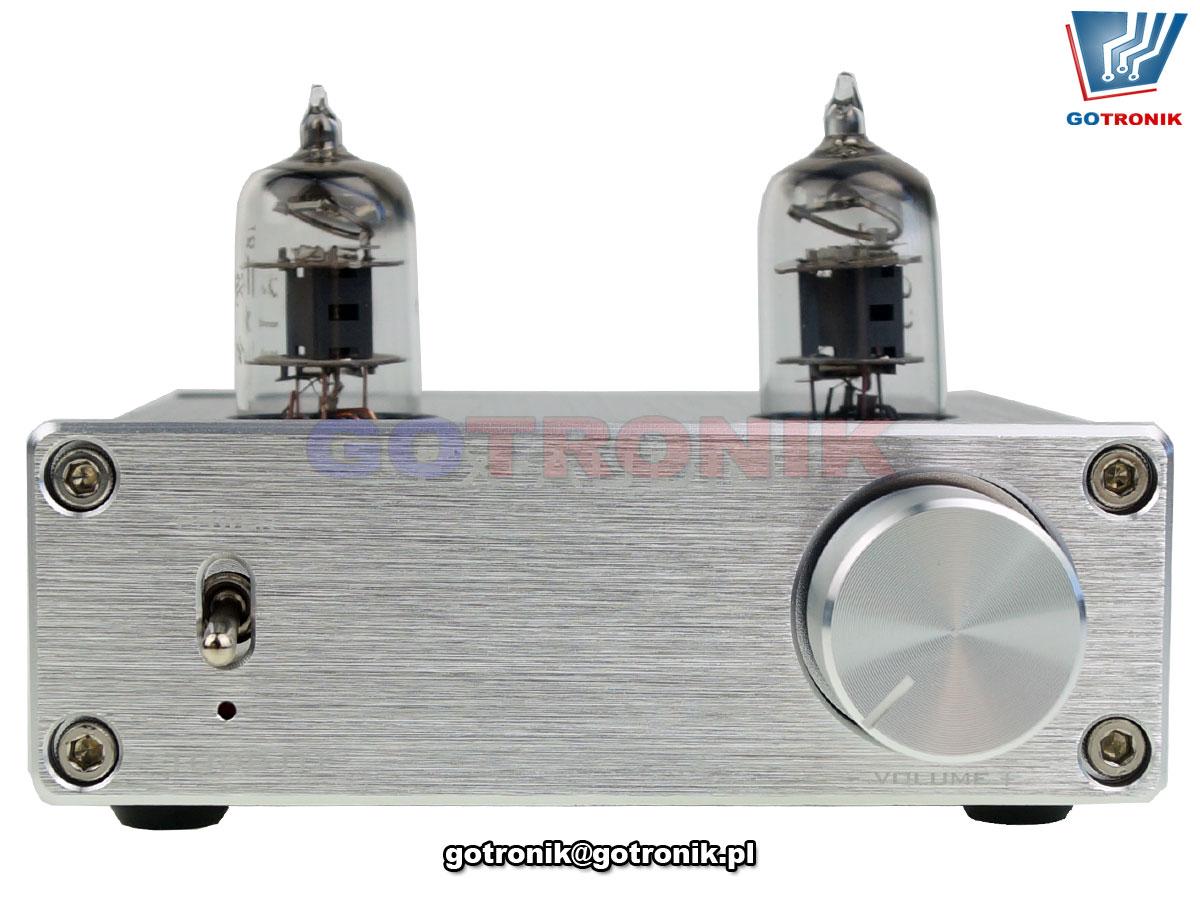 Przedwzmacniacz lampowy FX-AUDIO TUBE-01 HIFI srebrny DPC-002