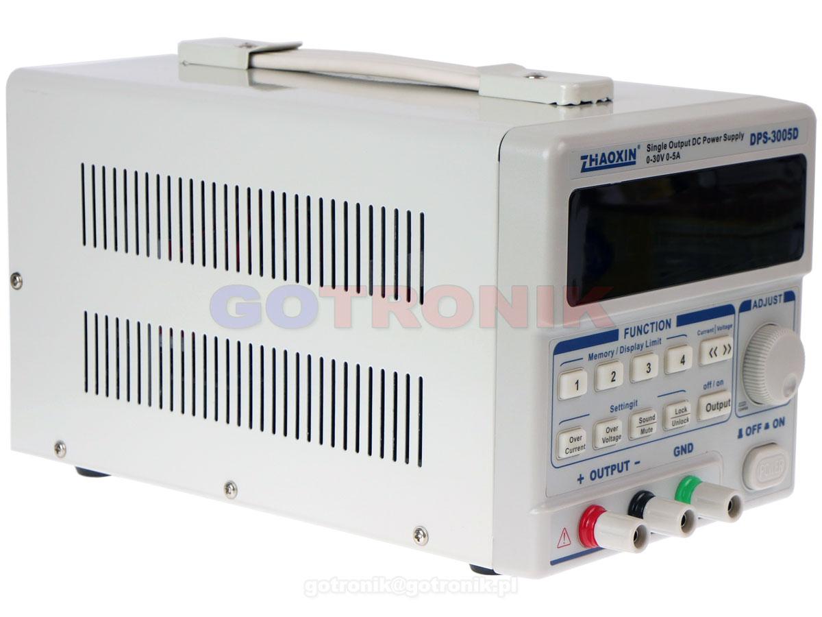 DPS-3005DU programowalny zasilacz laboratoryjny DPS3005DU Zhaoxin interfejs USB do PC
