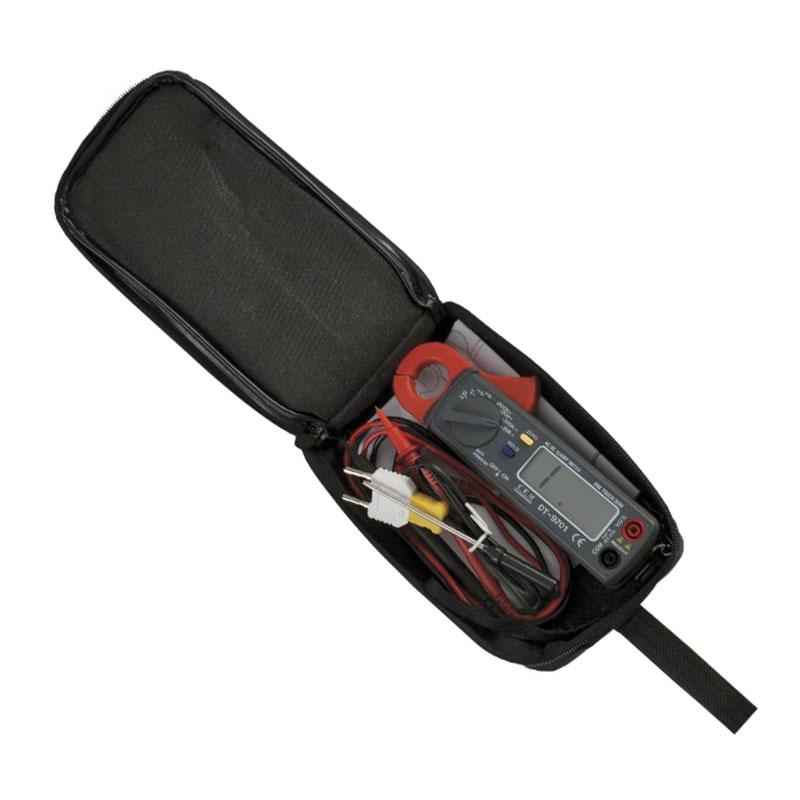 DT-9701 miernik cęgowy 200A AC/DC prąd stały zmienny przemienny multimetr