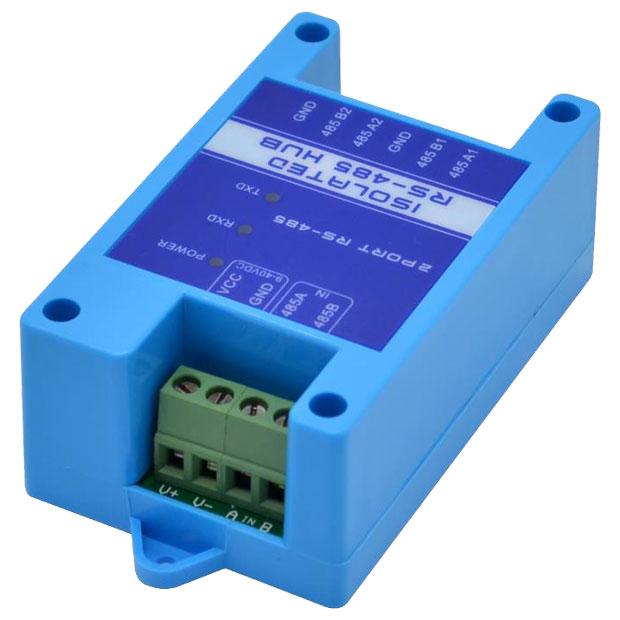 aktywny hub RS485 wzmacniacz RS-485 wzmacniacz repeater aktywny przedłużacz transmisji RS485 JPX-6021 ELEK-172