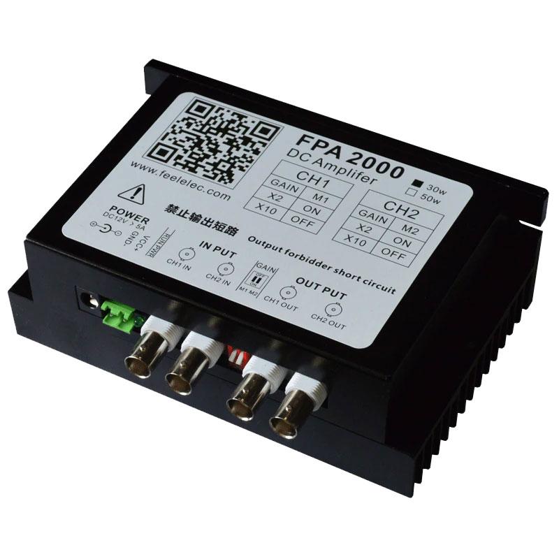 FPA2000 30W dwukanałowy wzmacniacz mocy do generatorów funkcyjnych
