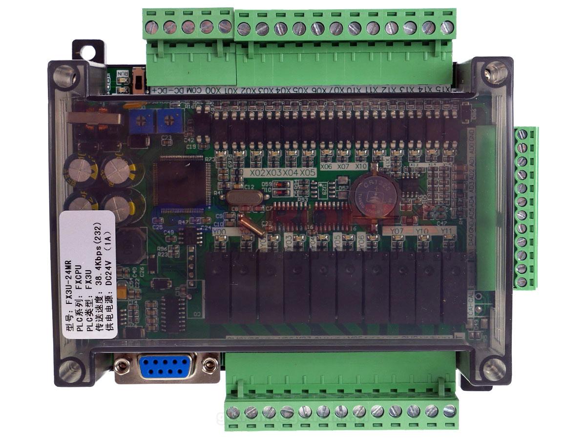 Programowalny sterownik PLC DC 24V FX3U-24MR FXCPU