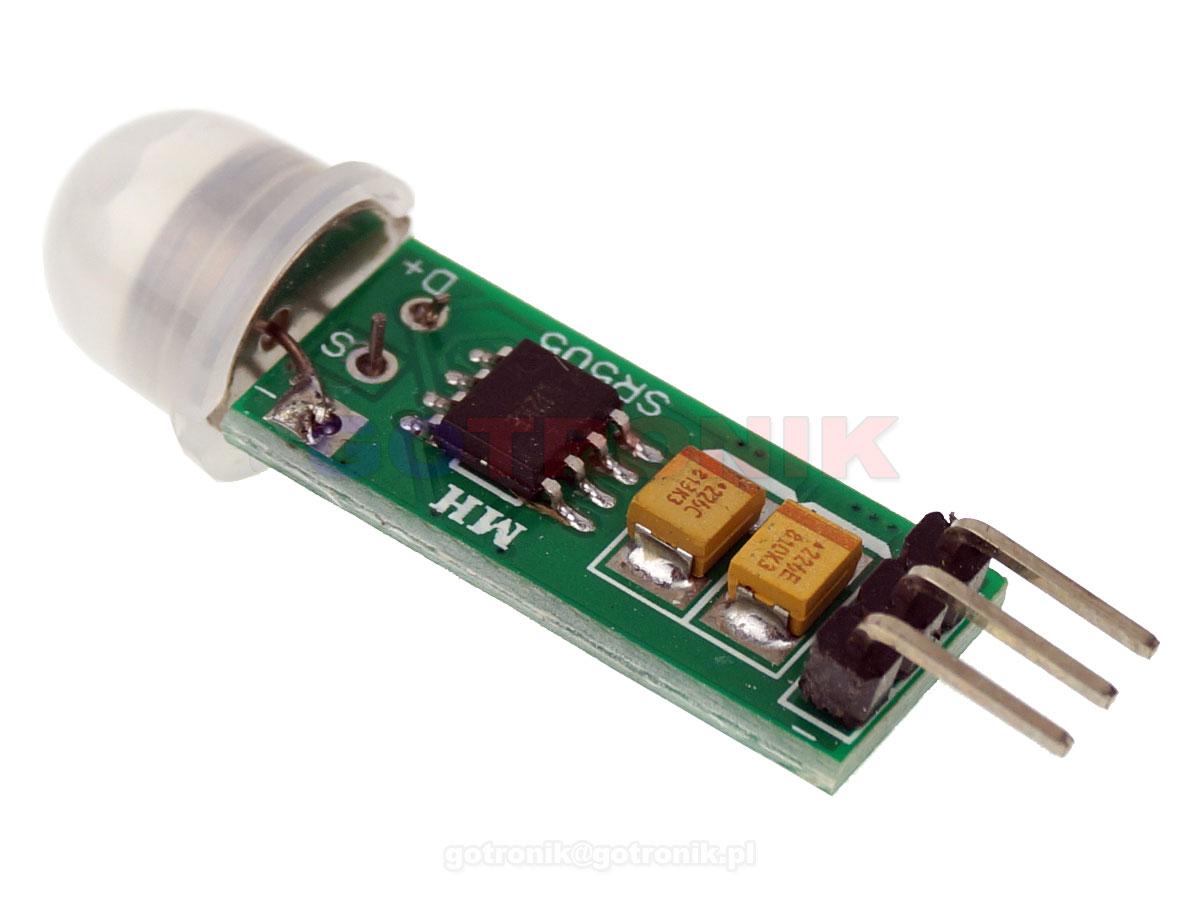 Moduł PIR czujnik detektor ruchu HC-SR505 ELEK-164