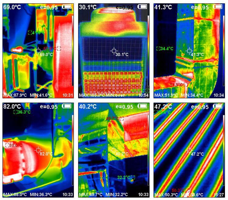 HT-A1 kamera termowizyjna termowizja kamera na podczerwień termowizor HTA1