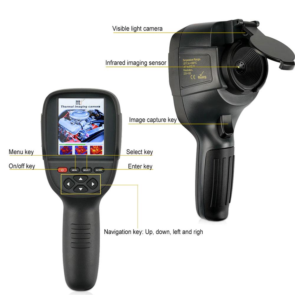 HT-19 kamera termowizyjna termowizja kamera na podczerwień termowizor HT19 Xintai