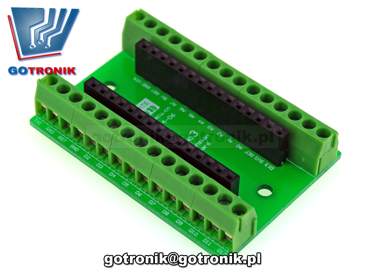 Adapter dla Arduino NANO 3.0 do lutowania