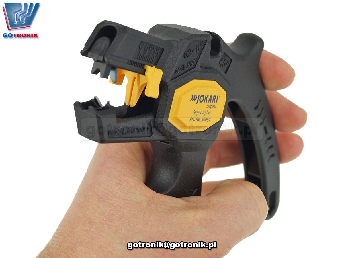 Ściągacz izolacji automatyczny Jokari SUPER 4 Plus 20050
