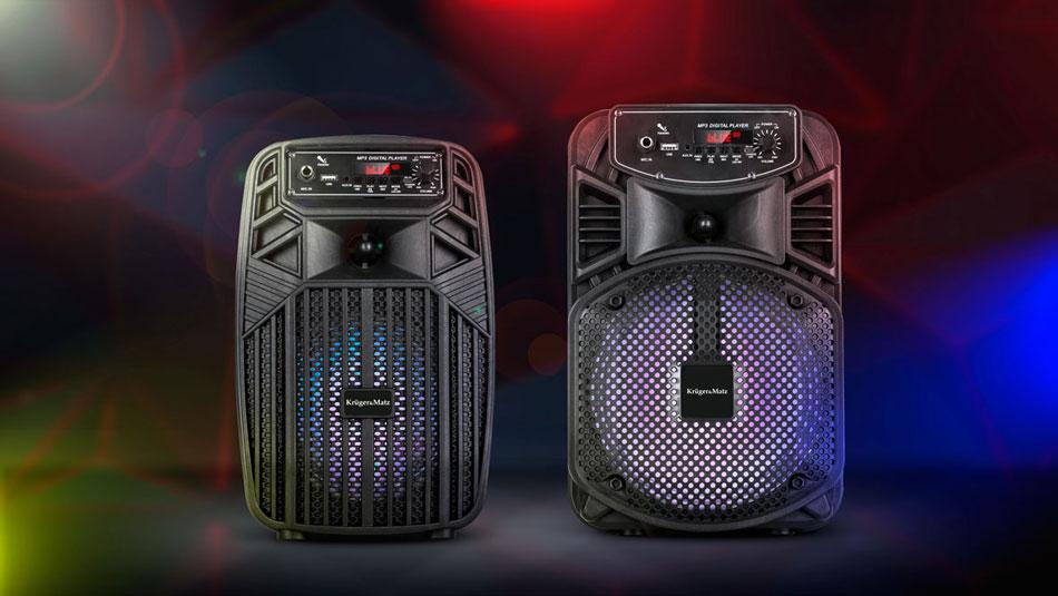 przenośny głośnik bezprzewodowy Kruger&Matz Music Box KM0555