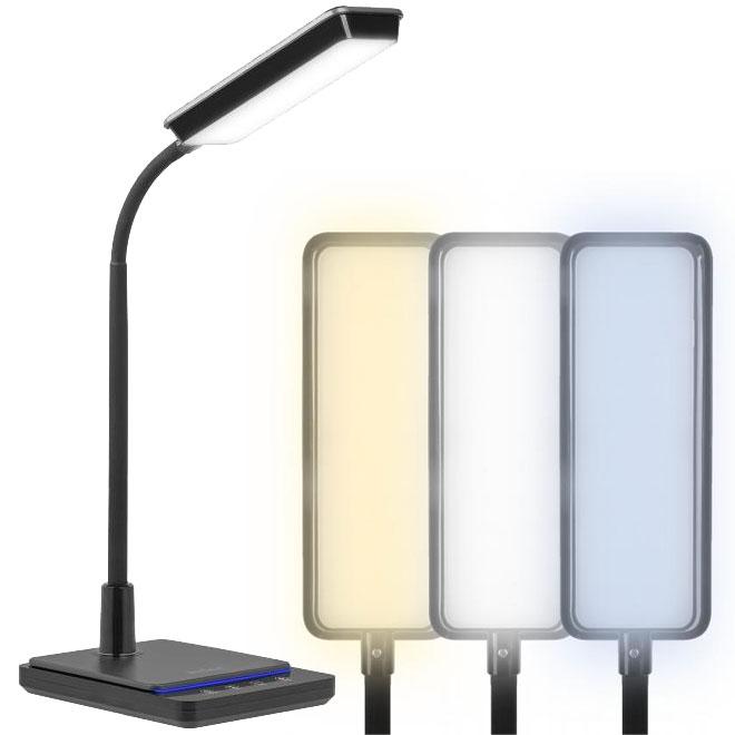 Lampa biurkowa LED z regulacją barwy światła KOM1011 Rebel
