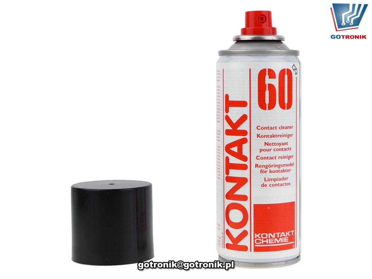 KONTAKT 60 200ml preparat do czyszczenia styków Kontakt Chemie