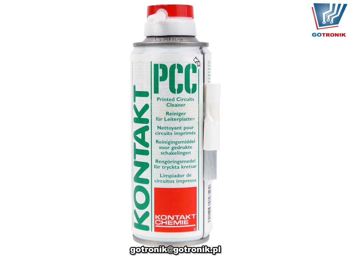 KONTAKT PCC 200ml do mycia płytek drukowanych po lutowaniu Kontakt Chemie