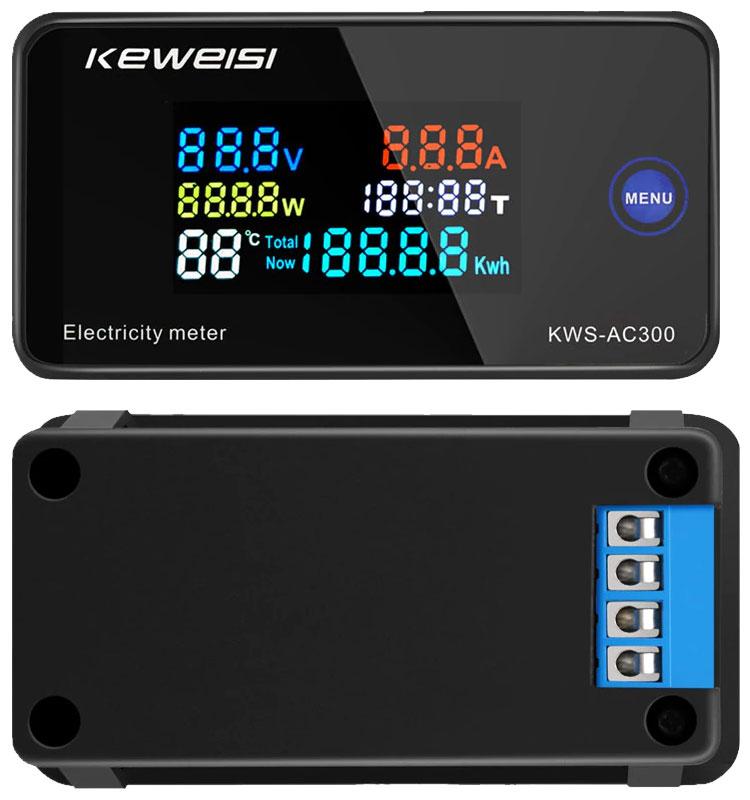 KWS-AC300-10A wielofunkcyjny miernik elektryczny panelowy BTE-1035