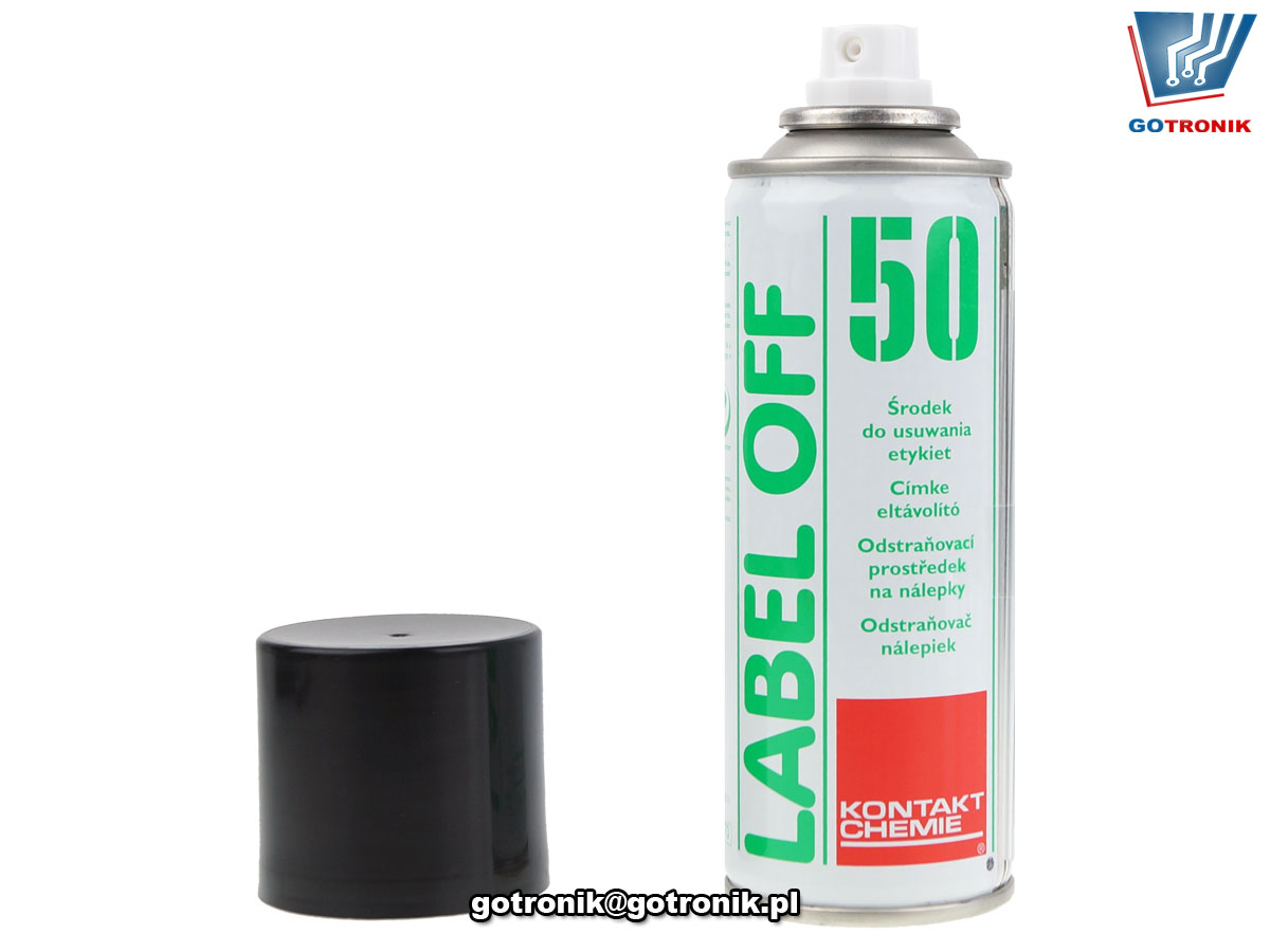 LABEL OFF 50 200ml do usuwania naklejek samoprzylepnych Kontakt Chemie
