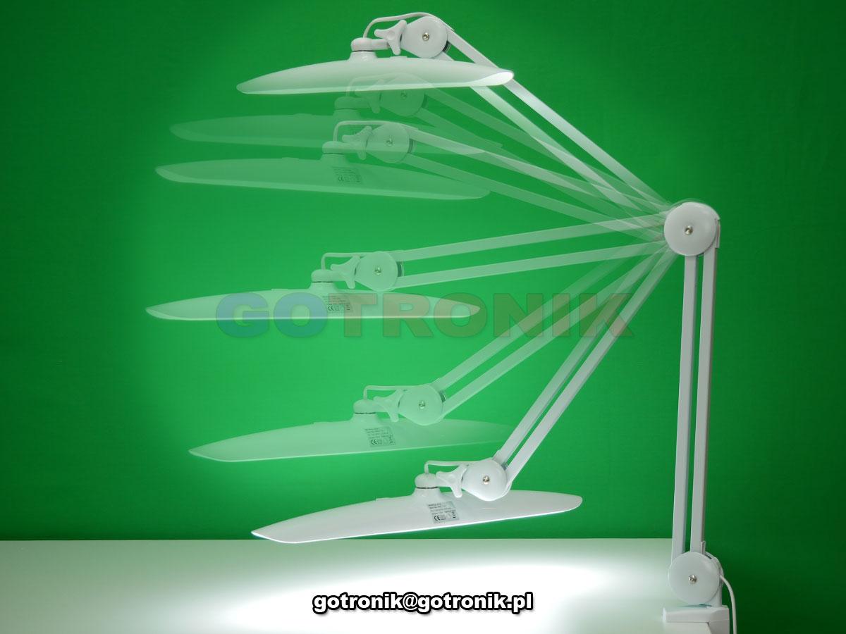 Lampa biurkowa 182 LED z funkcją ściemniania i regulacji barwy 9501LED-W LAM-052