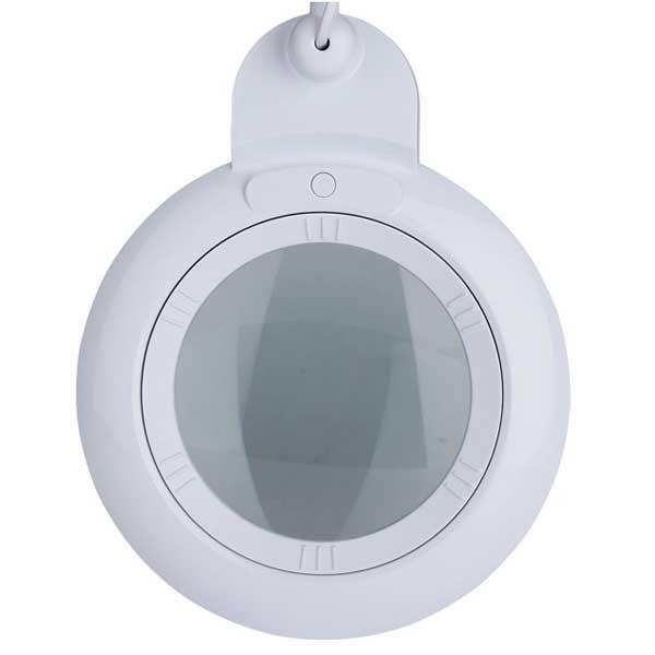 LAM-068, lampa z lupą 5d, lampa 9006LED, lampa ze szkłem powiększającym, lupa z podświetleniem, lupa z oświetleniem, lampa z powiększeniem, Lampa x60 diod LED z lupą o powiększeniu 2D x2,25, LAM-005