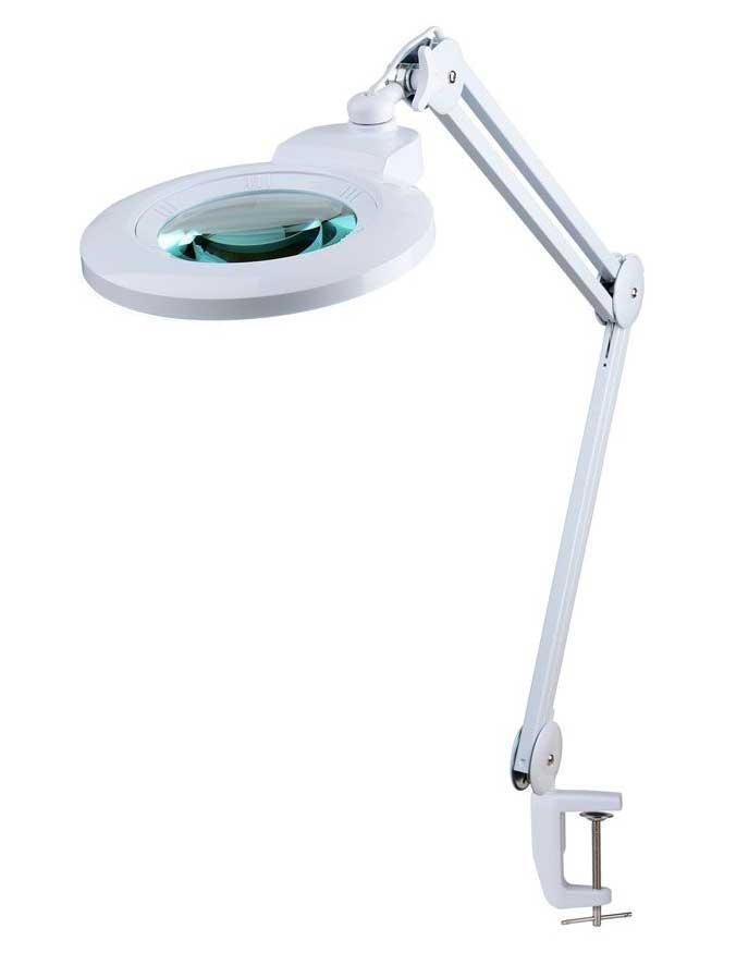 LAM-045, lampa z lupą 5d, lampa 9006LED, lampa ze szkłem powiększającym, lupa z podświetleniem, lupa z oświetleniem, lampa z powiększeniem, Lampa x60 diod LED z lupą o powiększeniu 5D x2,25, LAM-005,