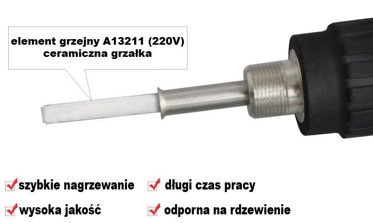 E60WT lutownica z regulacją temperatury 60W CXG