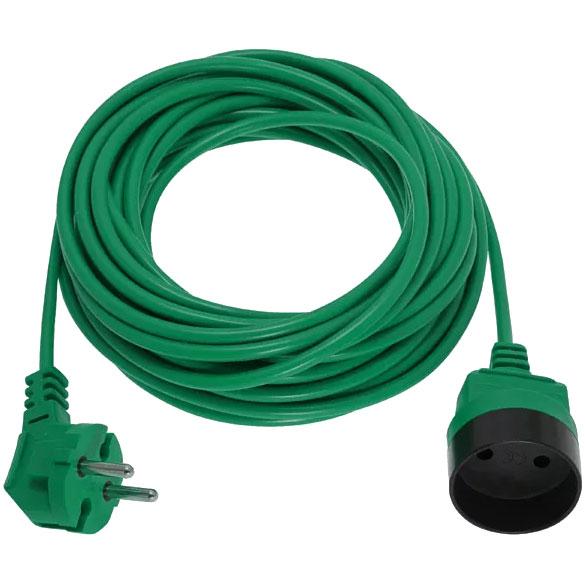 przedłużacz ogrodowy Elgotech PK-1020-7 1 gniazdo bez uziemienia 20 m 2 x 1mm zielony