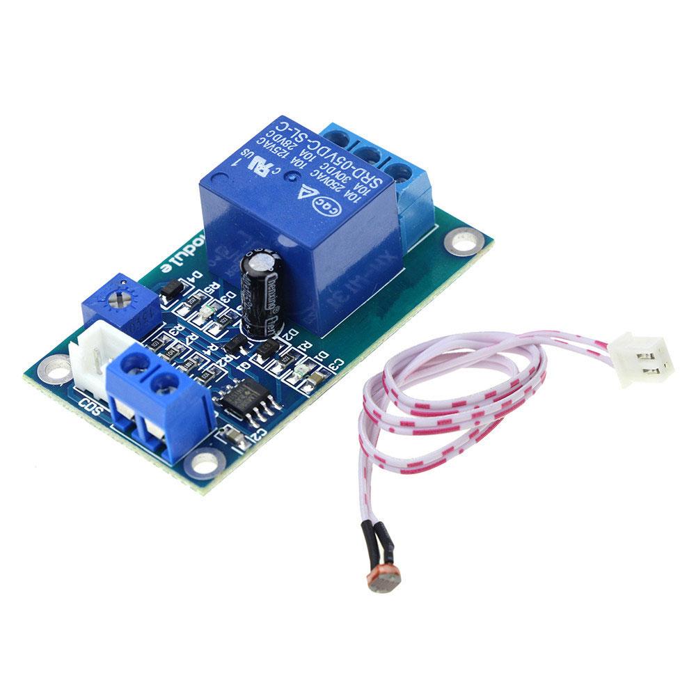 BTE-774 przekaźnik sterowany światłem fotorezystor przekaźnik świetlny oświetlenia natężenia światła