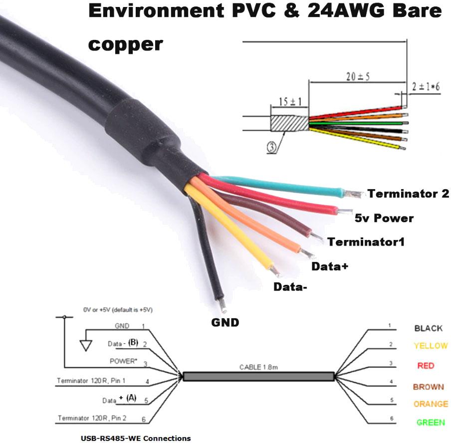 USB - RS485 konwerter na FT232RL FTDI adapter RBS-033 RBS033
